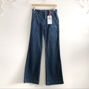 Daughters of the Liberation Wide Leg Denim Jeans